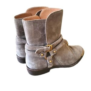 UGG Kelby Grey Short Boot Sz 7.5